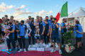 European Championship Canoa Polo, 10-10-2021: le premiazioni delle senior.